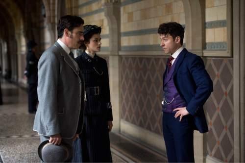 "Stephen Magadan, Rebecca Liddiard and Michael Weston star in the ""Houdini & Doyle."" Robert Vigliasky  |  Fox"