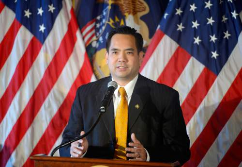 (Tribune file photo)  A spokesman for Utah Attorney General Sean Reyes says his office has an obligation to defend the laws of the state.