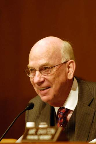 |  Tribune File Photo  Senator Bob Bennett.