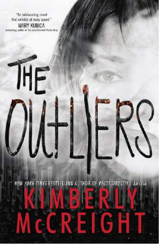 """This book cover image released by HarperCollins shows, """"The Outliers,"""" by Kimberly McCreight. (HarperCollins via AP)"""