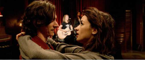 "|  Foe Killer Films  Sampson (John Hawkes, left), a private eye, talks to Dorothy (Crystal Reed), a young woman in trouble, in the noir thriller ""Too Late."""