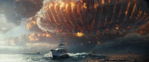 "This image released by 20th Century Fox shows a scene from ""Independence Day: Resurgence,"" opening in theaters nationwide on June 24. (20th Century Fox via AP)"