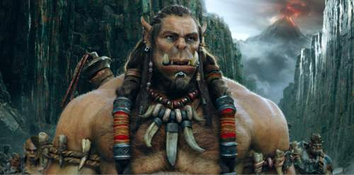 "This image released by Universal Pictures shows the character Durotan, voiced by Toby Kebbell, from the film, ""Warcraft,"" based on the Blizzard Entertainment video game. (Universal Pictures via AP)"
