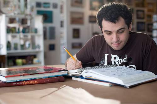 "This image released by the Tribeca Film Festival shows Owen Suskind in a scene from the documentary, ""Life, Animated.""  (Tribeca Film Festival via AP)"
