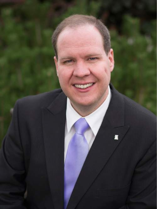 Courtesy photo Jonathan Swinton is running for the Utah Democratic nomination for U.S. Senate. He wants to help solve Washington gridlock by finding common ground with Republicans.