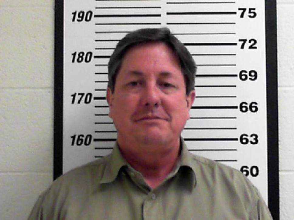 This Tuesday, Feb. 23, 2016 booking photo released by the Davis County, Utah Jail shows Lyle Jeffs. On Tuesday, several top leaders from Warren Jeffs' polygamous sect, including Lyle Jeffs, were arrested on federal accusations of food stamp fraud and money laundering — marking one of the biggest blows to the group in years. (Davis County Jail via AP)