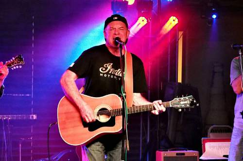 Courtesy photo  Utah musician Chris Orrock performs Saturday, May 21, at The Acoustic Space at The Gateway in Salt Lake City.