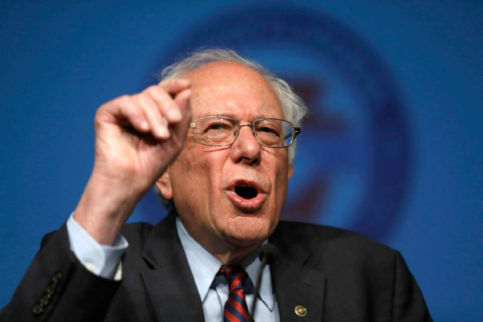 Matt Rourke  |  AP file photo Democratic presidential candidate, Sen. Bernie Sanders, I-Vt. is trailing Donald Trump in Utah, according to a new poll.