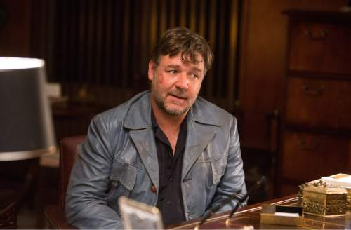 """This image released by Warner Bros. Entertainment shows Russell Crowe in a scene from """"The Nice Guys."""" (Daniel McFadden/Warner Bros. Entertainment via AP)"""
