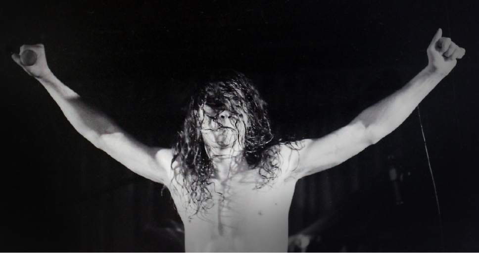 Rick Egan    The Salt Lake Tribune   Chris Cornel performs with Soundgarden, at the Speedway Cafe, February 28, 1990