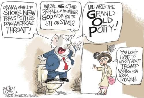 Bagley Cartoon Unfunny Bathroom Joke The Salt Lake Tribune
