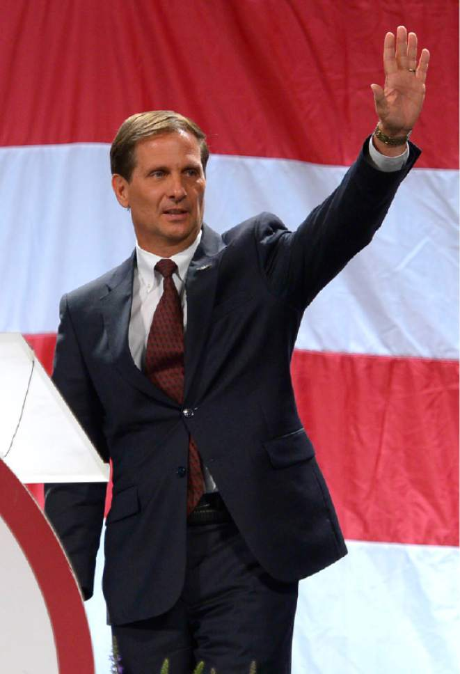Leah Hogsten  |  Tribune file photo Rep. Chris Stewart will skip the Republican National Convention in Cleveland.
