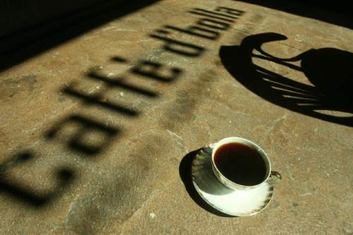 "Tribune file photo ""100 Things to do in Salt Lake City Before You Die"" -- Drink the perfect cup of coffee at Caffe d'Bolla."