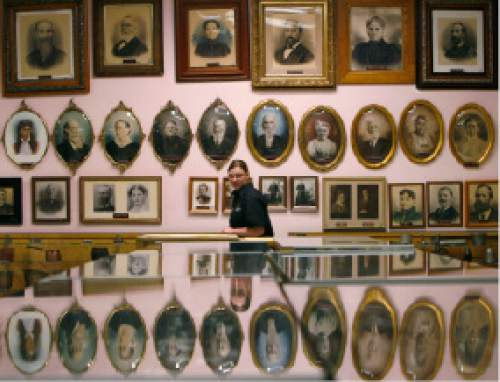 """Tribune file photo """"100 Things to do in Salt Lake City Before You Die"""" - Take in the Daughters of Utah Pioneers Museum."""