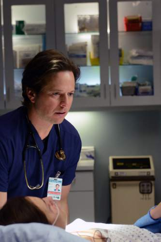 """Scott Wolf stars as Dr. Scott Clemmens in """"The Night Shift."""" Ursula Coyote  