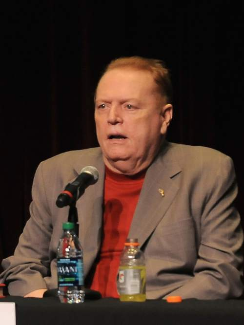 Katy Winn |  AP file photo Hustler Magazine founder Larry Flynt weighed in on Utah's anti-pornography resolution, touching off a fight between rival governor's campaigns.