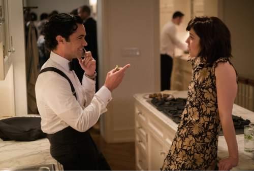 "Danny Pino as Sen. Luke Healy and Mary Elizabeth Winstead as Laurel Healy in ""BrainDead."" Michael Parmelee  |  CBS"