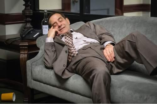 "Tony Shalhoub as Sen. Red Wheatus in ""BrainDead."" Jeff Neumann/     CBS"