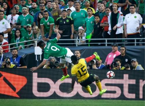 37017de19 Copa America  Chicharito powers Mexico past Jamaica 2-0