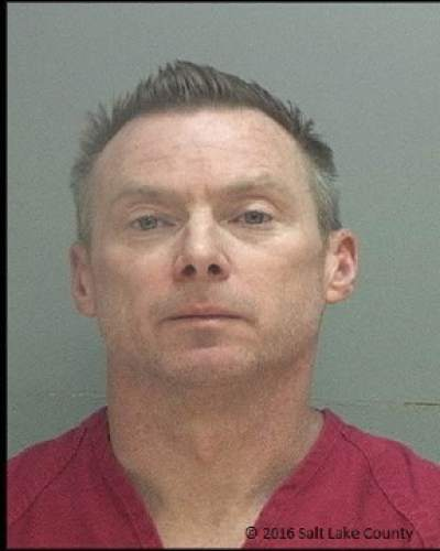 FILE - This file photo provided by the Salt Lake County Sheriff's Office shows Craig Crawford. Crawford, the estranged husband of a well-known Salt Lake City LGBT pioneer and restaurateur who died in a house fire was charged Wednesday, June 8, 2016, with aggravated murder and arson. Prosecutors said they believe Crawford purposely started the late-night fire to kill his husband, John Williams, who had filed for divorce from Crawford and sought a temporary restraining order that was rejected. (Salt Lake County Sheriff's Office via AP, File)