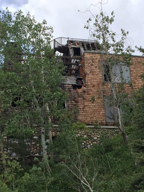"""Courtesy photo  One man is dead and a suspect is in custody after an early Sunday morning fire that Salt Lake City police are calling """"suspicious."""""""
