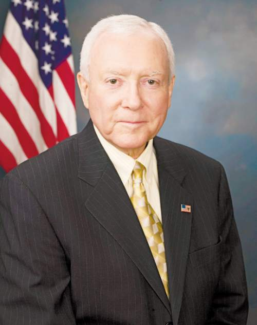 Sen. Orrin Hatch, R-Utah, received 4/12/07
