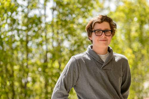 Trent Nelson     The Salt Lake Tribune Louis Fisher is a gay student at Judge Memorial High School. He's collected 1,000 signatures on a petition for a  gay-straight-alliance at the private Catholic High School. So far officials have said no. Fisher was photographed in Salt Lake City, Thursday May 12, 2016