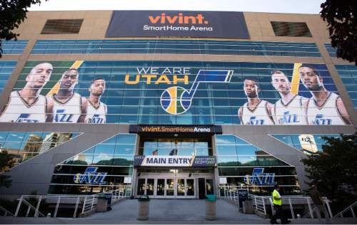 Steve Griffin  |  Tribune file photo  The Vivint SmartHome Arena on Monday, October 26, 2015, the day it transitioned from EnergySolutions Arena.  The Salt Lake City Redevelopment Agency recently approved $22.7 million in tax breaks to help the larry H. Miller group renovate the arena.