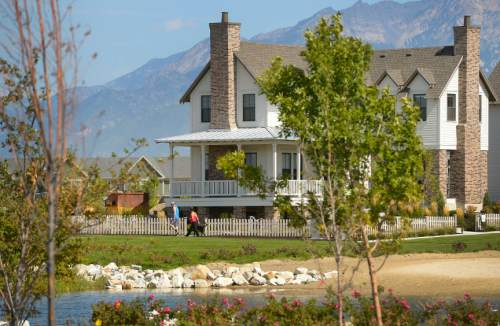 Leah Hogsten  |  Tribune file photo Rio Tinto Kennecott has sold the residential development Daybreak to Varde Partners. The master-planned urban development is a huge presence in Utah housing and serves as a model for how the Salt Lake Valley may develop over the next generation.