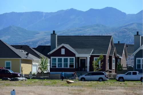 Scott Sommerdorf   |  The Salt Lake Tribune   The Daybreak community near South Jordan, Friday, June 17, 2016.