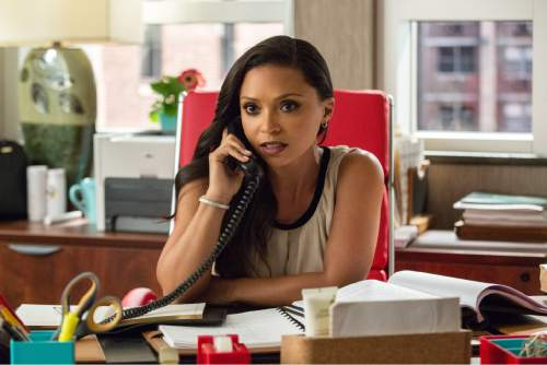 """This image released by Warner Bros. Entertainment shows Danielle Nicolet in a scene from, """"Central Intelligence."""" (Claire Folger/Warner Bros. Entertainment Inc. via AP)"""