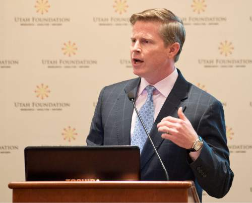 Lennie Mahler |  Tribune file photo  Jonathan Johnson, Republican challenger to Gov. Gary Herbert said he was disgusted by what he heard on the tape secretly recorded at a meeting last month with the governor and lobbyists at the Alta Club in downtown Salt Lake City.