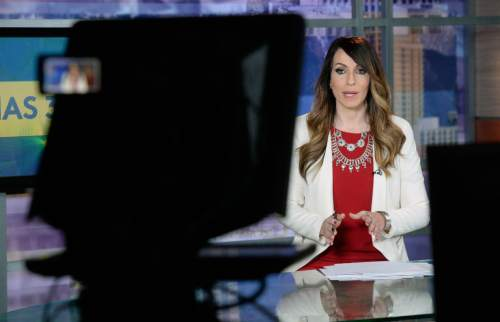 "Al Hartmann  |  The Salt Lake Tribune  Univision Salt Lake City news director and anchorwoman Irene Caso presents thes 5 p.m. ""Noticias 32 Salt Lake City"" newscast. Census data show that Latinos just passed a key milestone: more than 400,000 now live in the state."