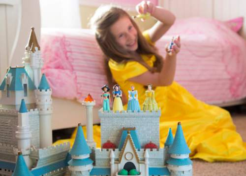 Mark A. Philbrick  |  BYU  A new study from Brigham Young University family life professor Sarah Coyne shows that young girls who engage often with Disney princesses are more likely to exhibit stereotypically female behavior a year later.