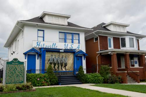 Jeremy Harmon  |  The Salt Lake Tribune  Motown Records started in this house in 1959. It is now the home the the Motown Museum. The recording studio was on the first floor and the Gordy family lived upstairs. The studio was used from 1959-1972.