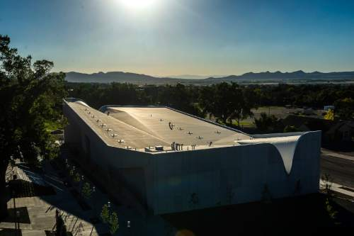 Chris Detrick  |  The Salt Lake Tribune The new Southern Utah Museum of Art at Southern Utah University in Cedar City.