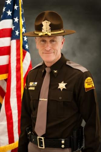 Courtesy     Utah Highway Patrol  Col. Michael Rapich