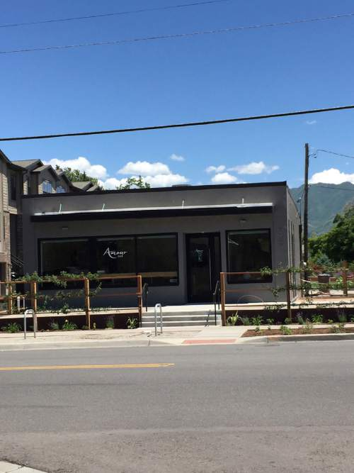 Kathy Stephenson     The Salt Lake Tribune  The new Amour Cafe, near Liberty Park, showcases the unique and award-winning jams made by Utah's Amour Spreads.