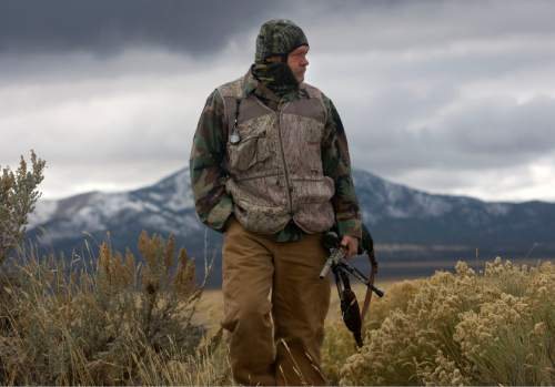Al Hartmann     The Salt Lake Tribune Bill Keebler, seen here in a 2011 file photo, has been charged with trying to blow up a BLM facility in Arizona.
