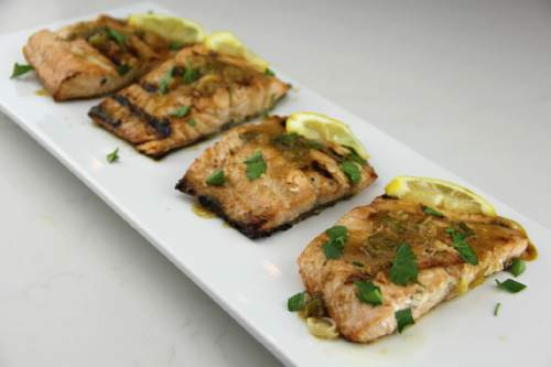 Recipe: Marinating salmon in juice can make a delicious difference