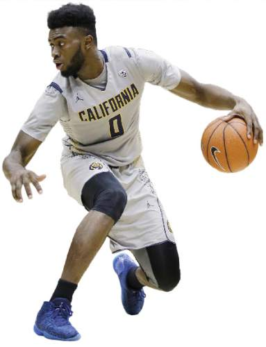 California forward Jaylen Brown (0) in action against Coppin State during the second half of an NCAA college basketball game Saturday, Dec. 19, 2015, in Berkeley, Calif. (AP Photo/Marcio Jose Sanchez)