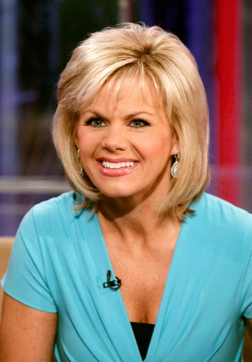 """FILE - In this May 18, 2010 file photo, TV personality Gretchen Carlson appears on the set of """"Fox & friends"""" in New York. Carlson, the former Fox News Channel anchor, is suing network chief executive Roger Ailes, claiming she was fired after refusing his sexual advances. Carlson, 50, spent 11 years at Fox. She was Miss America in 1989. (AP Photo/Richard Drew, File)"""