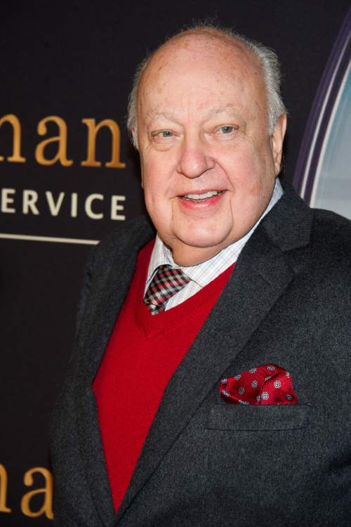 """FILE - In this Feb. 9, 2015 file photo, Roger Ailes attends a special screening of """"Kingsman: The Secret Service"""" in New York. Ailes, the Fox News Channel network chief executive is being sued by former anchor Gretchen Carlson, who claims she was fired after refusing his sexual advances. The lawsuit was filed Wednesday, July 6, 2016, in Superior Court in New Jersey's Bergen County. (Photo by Charles Sykes/Invision/AP, File)"""