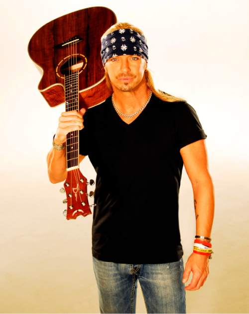 Bret Michaels' The Party Starts Now Tour comes to Usana Amphitheatre on Saturday, July 9 for BearFest, the 30th anniversary celebration of local rock station KBER 101 FM. The former Poison frontman headlines a bill featuring fellow '80s hair-metal acts Ratt, Dokken, Warrant and Lita Ford. Courtesy Bret Michaels