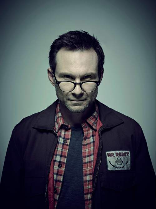 """Christian Slater stars as the title character in """"Mr. Robot.""""  Photo by: Nadav Kander/USA Network"""