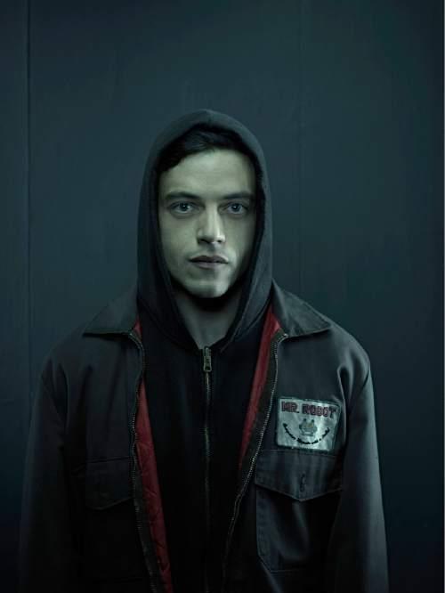 "Rami Malek stars as Elliot Alderson in ""Mr. Robot.""  Photo by: Nadav Kander/USA Network"