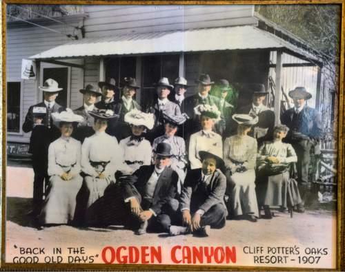 Al Hartmann     The Salt Lake Tribune  The Oaks in Ogden Canyon has a long history that dates to 1907.
