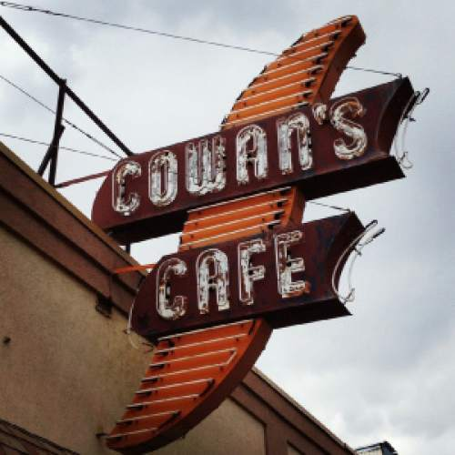Courtesy photo  Cowan's Cafe in Duchesne has been serving old-fashioned breakfasts and classic hamburgers for generations.