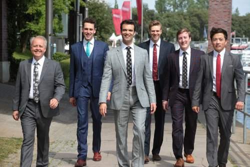 Axel Nickolaus  |  Courtesy  l-r David Hurley, Jonathan Howard, Timothy Wayne-Wright, Christopher Gabbitas, Christopher Bruerton, Julian Gregory.