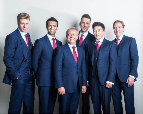 Courtesy photo  The English a cappella group The King's Singers, will join the Mormon Tabernacle Choir and Orchestra for the annual Pioneer Day concerts, on June 22 and 23 at the LDS Conference Center in Salt Lake City.